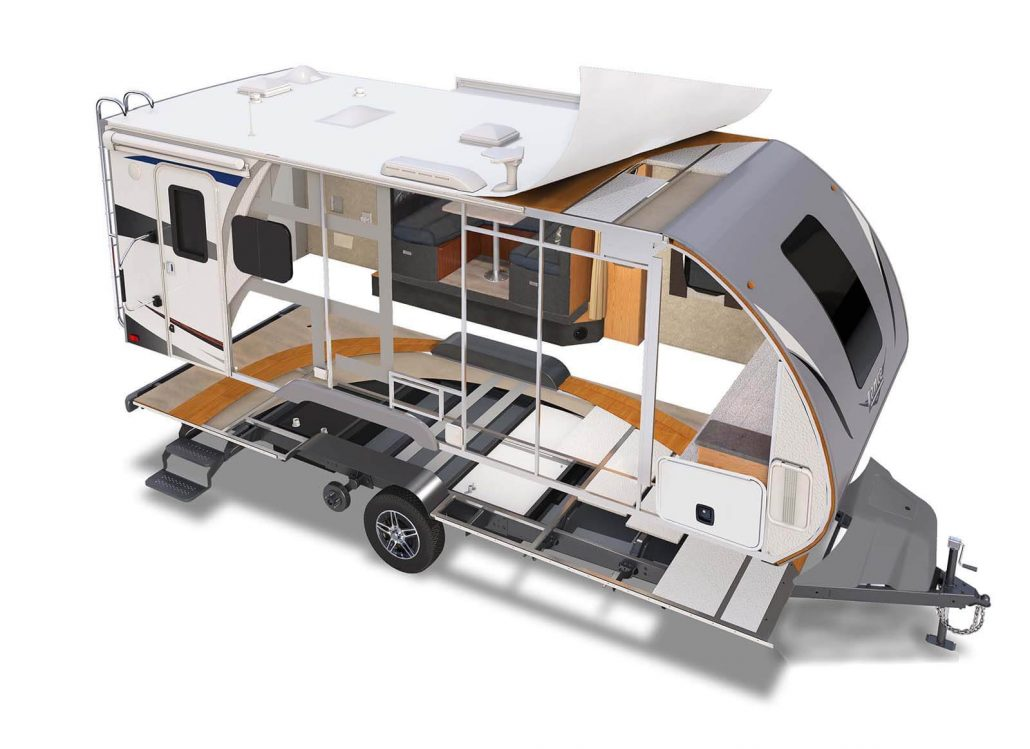 Ultra Light Travel Trailers - Lance