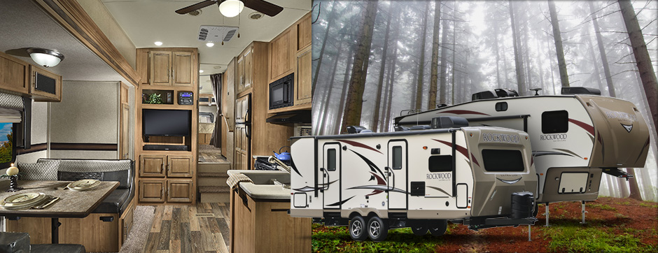 Ultra Light Travel Trailers - Rockwood