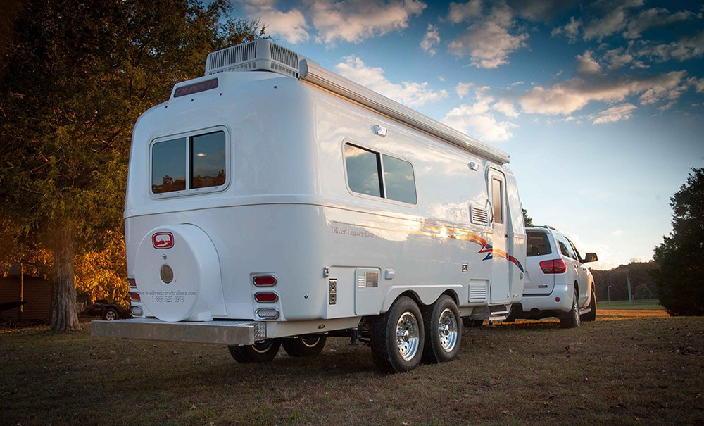 Travel Trailers Two Twin Beds